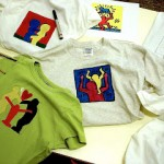 T-shirts ispirate a Keith Haring