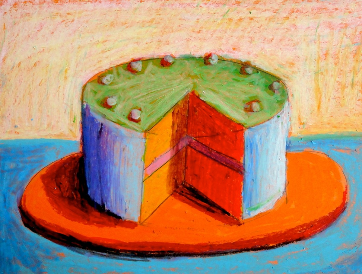 Cake Art Reddit : Cakes inspired by Wayne Thiebaud