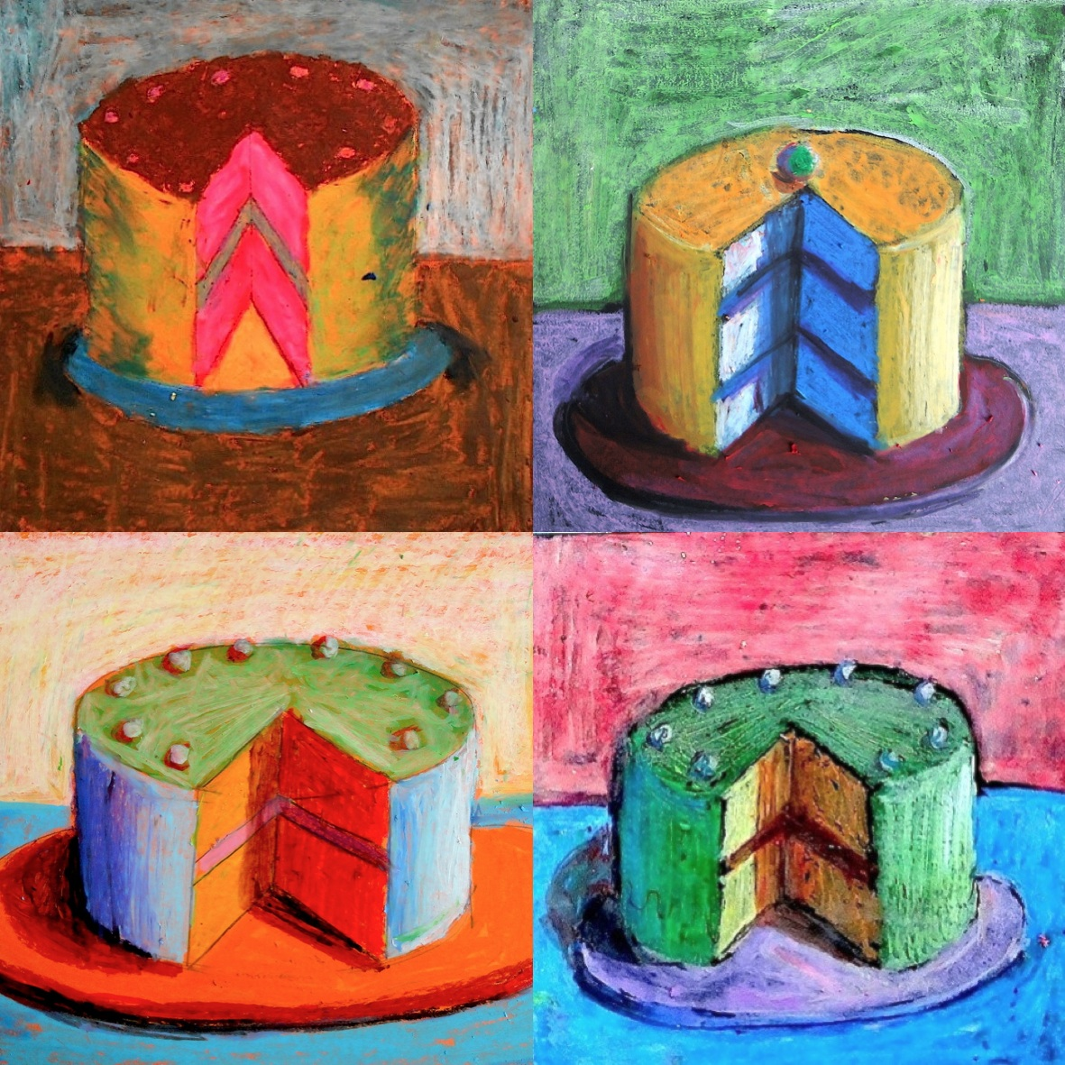 Artist Who Draws Cake : Art Lessons, Grade 6 on Pinterest Chuck Close, Still ...