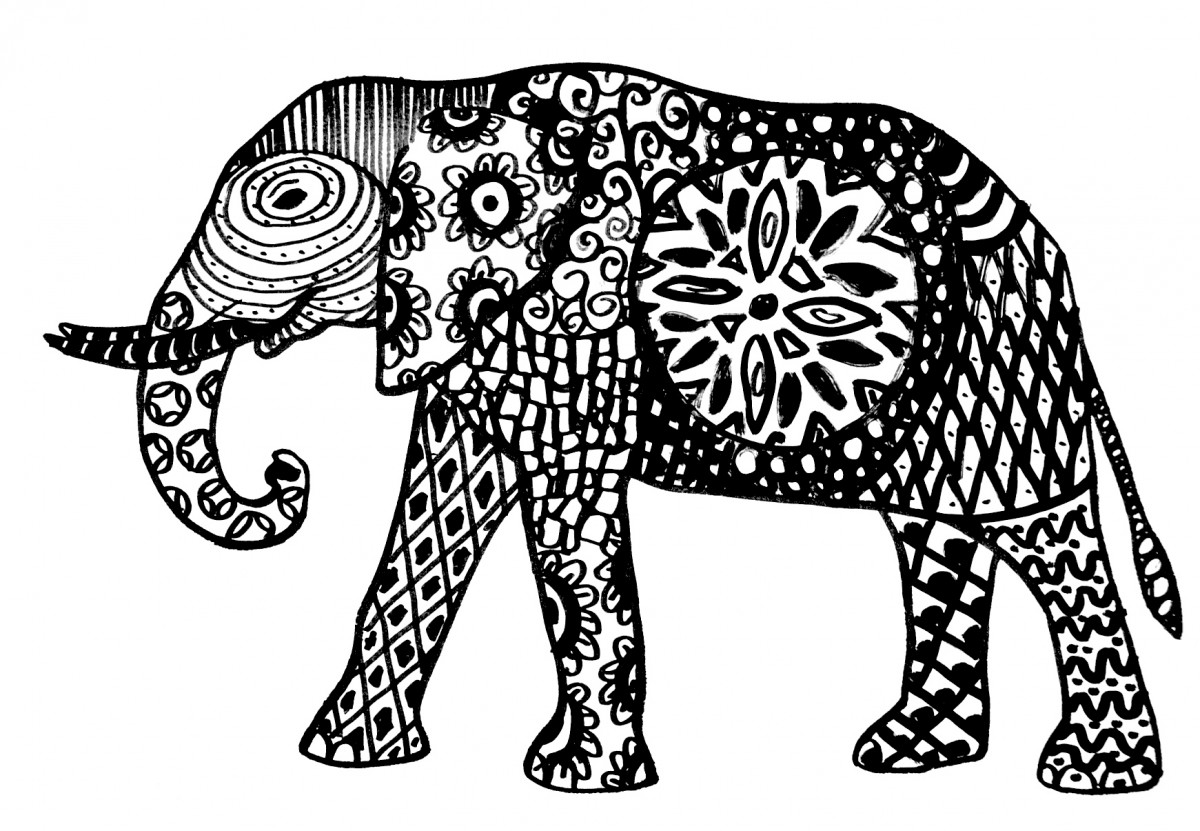 Image result for animal zentangle