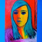 """Expressionist"" portraits"