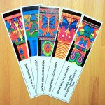 Special bookmarks to welcoming the new pupils at school