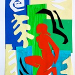 Collage Matisse's style