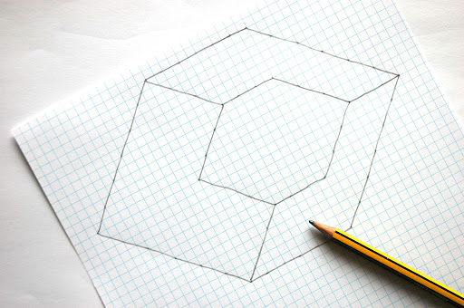 easy illusions to draw - photo #10