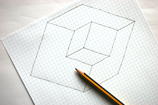 easy illusions to draw - photo #8
