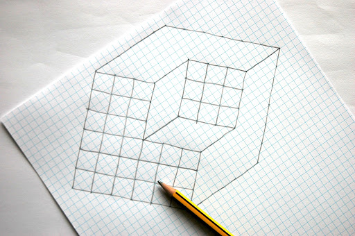 easy illusions to draw - photo #42