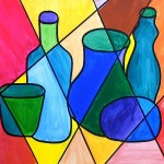 Warm and cool colors for a still life