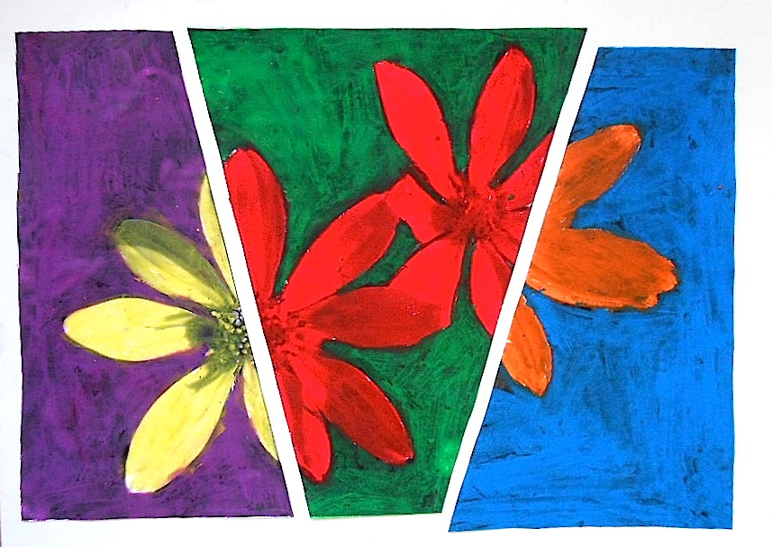 Flowers In Complementary Colors