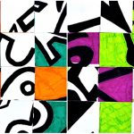 Shape and abstraction: drawings inspired by Harold Hollingsworth
