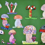 Fanciful mushrooms!