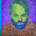 Portrait in the style of Van Gogh