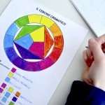Color theory: worksheets and video tutorial