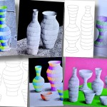 Striped bottles: 3 worksheets