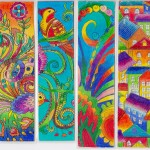 A post for you: colorful bookmarks