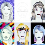 Drawing a face: worksheet and five suggestions
