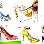 Shoe Design: 2 worksheets