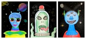 alieni trittico