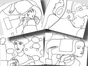 klimt2 collage