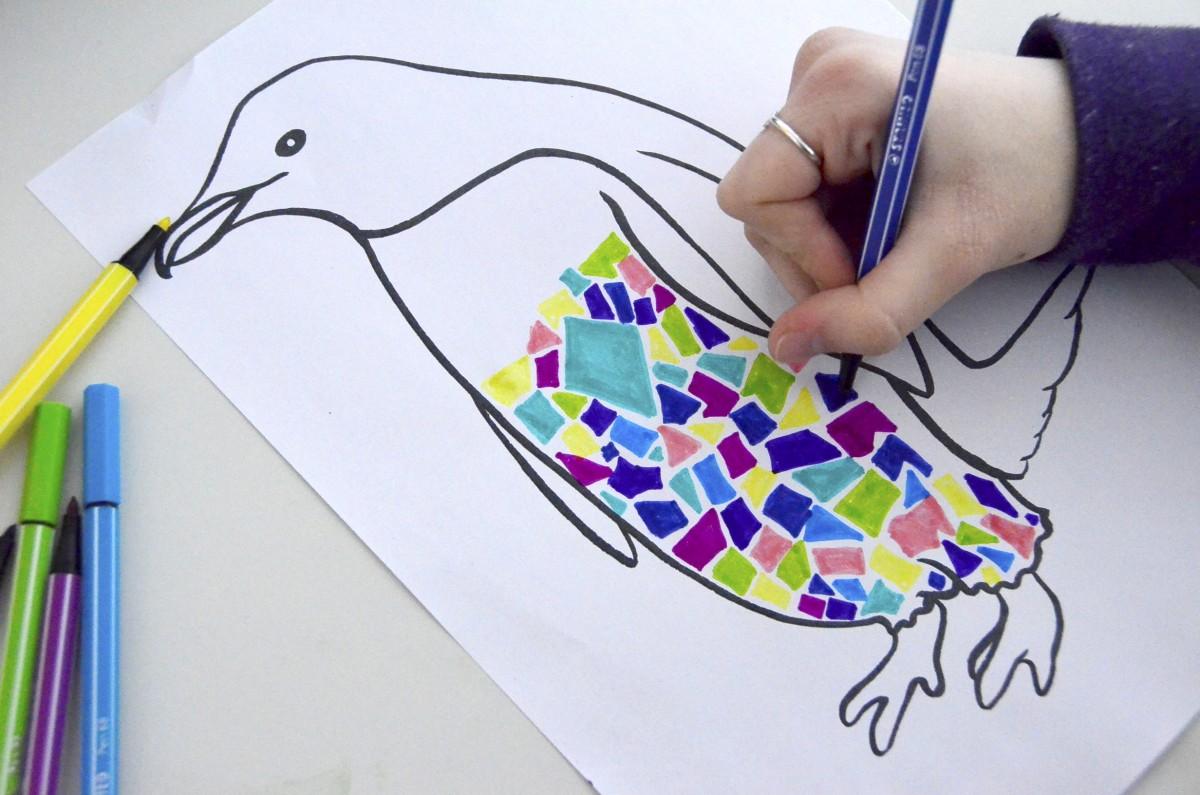 Come Costruire Un Mosaico animali a mosaico ispirati a gaudì