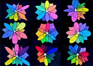 9 fiori cromatici
