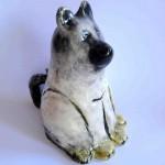 Animal sculptures in ceramic