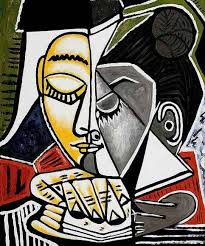 picasso head painting