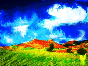paesaggio verde13 van gogh