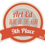 Art Ed Blog of the Year 2013: 9th Place!
