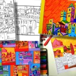Medieval Cities: 5 printable worksheet