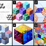 The cube: worksheets and 5 suggestions