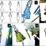 Fashion design with Textures: worksheets and 5 activities