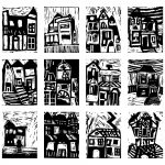 Printing Expressionist Houses