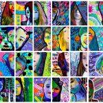 SELFIE Artist Trading cards 2018
