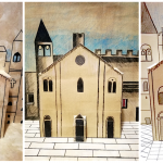 Romanesque pop-up Cathedral
