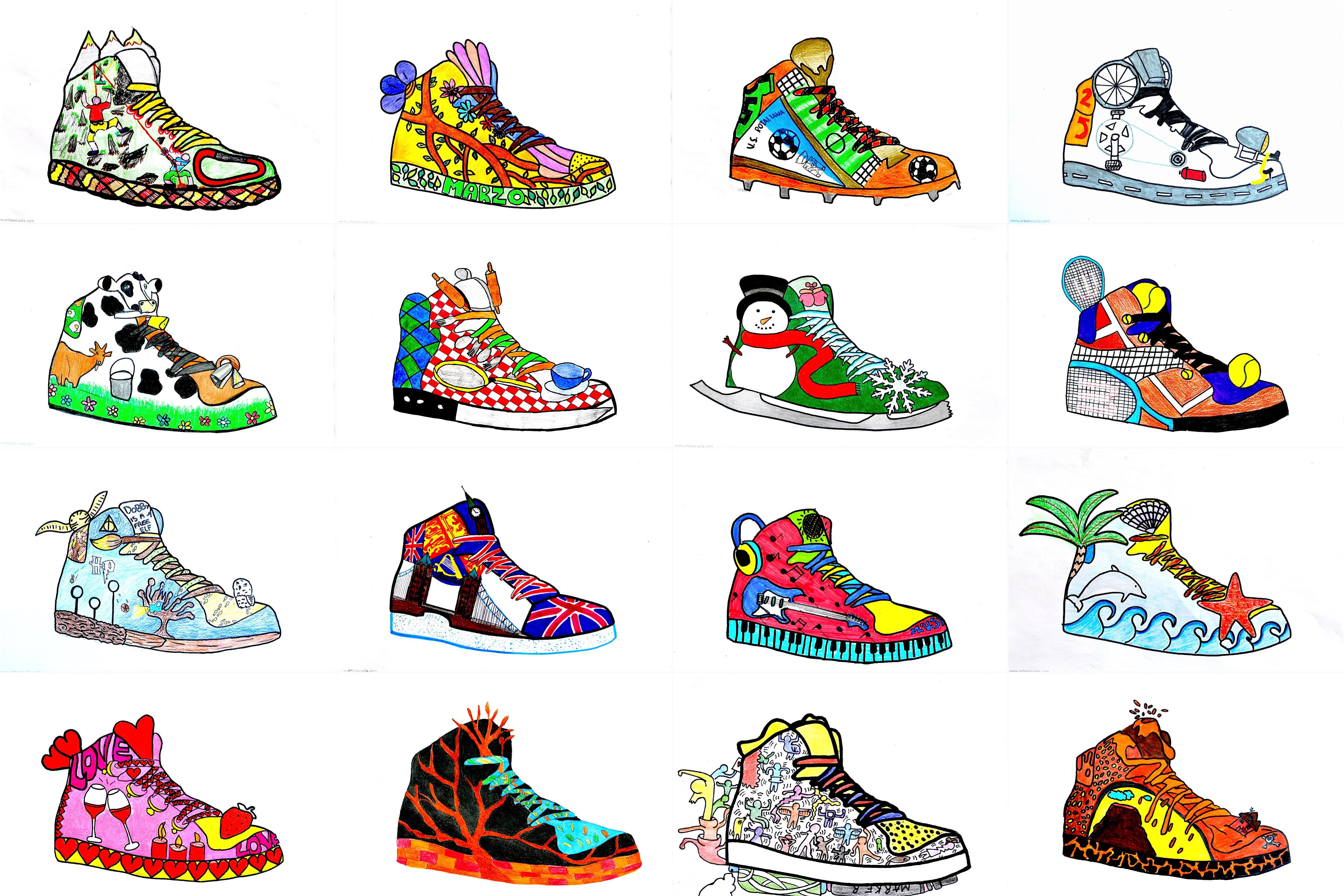 Sneaker Designen